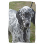 Adorable Black and White English Setter Kitchen Towel