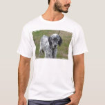 Adorable Black and White English Setter T-Shirt