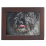 Adorable Cairn Terrier Memory Box