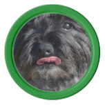 Adorable Cairn Terrier Set Of Poker Chips