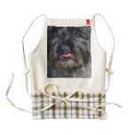 Adorable Cairn Terrier Zazzle HEART Apron