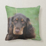 Adorable Cocker Spaniel Throw Pillow