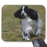 Adorable English Cocker Spaniel Mouse Pad