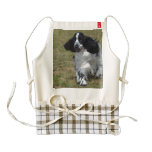 Adorable English Cocker Spaniel Zazzle HEART Apron