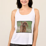 Adorable Irish Setter Tank Top
