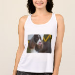 Adorable Springer Spanial Tank Top