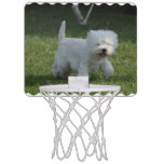 Adorable West Highland Terrier Mini Basketball Backboard