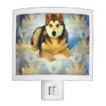 Alaskan Malamute Puppies Night Light