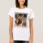 Alert German Shepherd T-Shirt