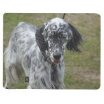 Beautiful English Setter Dog Journal