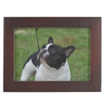Black and White French Bulldog Memory Box