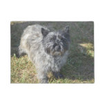 Black Cairn Terrier Doormat