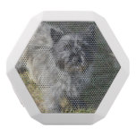 Black Cairn Terrier White Bluetooth Speaker