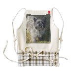 Black Cairn Terrier Zazzle HEART Apron