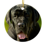 Black Mastiff Ornament