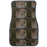 Blonde Saluki Dog Car Floor Mat