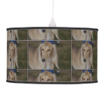 Blonde Saluki Dog Ceiling Lamp