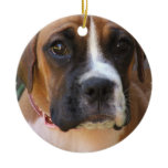 Boxer Dog Design Ornament