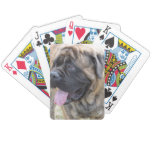 Brindle Mastiff Bicycle Playing Cards