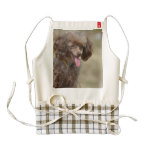 Brown Toy Poodle Zazzle HEART Apron