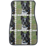 Classic Boston Terrier Dog Car Floor Mat