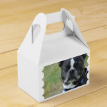 Classic Boston Terrier Dog Favor Box