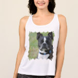 Classic Boston Terrier Dog Tank Top