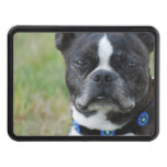 Classic Boston Terrier Dog Trailer Hitch Cover