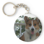 Corgi Puppy Dog Keychain