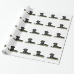Cute Black Lab Wrapping Paper