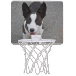Cute Corgi Puppyh Mini Basketball Hoop
