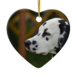 Cute Dalmatian Puppy Ceramic Ornament