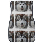 Cute Husky Car Floor Mat