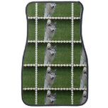 Cute Siberian Husky Car Mat