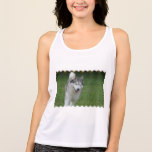 Cute Siberian Husky Tank Top