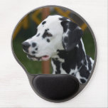 Dalmatian with Spots Gel Mouse Pad