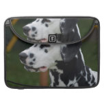 Dalmatian with Spots MacBook Pro Sleeve
