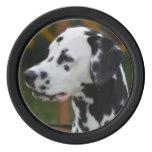 Dalmatian with Spots Poker Chips