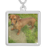 Daschund Dog Necklace