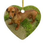 Daschund Dog Ornament