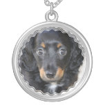 Daschund Puppy Dog Necklace