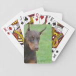 Doberman Playing Cards