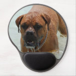Drooling Bordeaux Mastiff Gel Mouse Pad