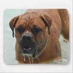 Drooling Bordeaux Mastiff Mouse Pad