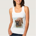 Drooling Bordeaux Mastiff Tank Top