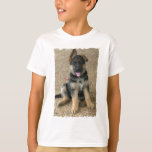 German Shepherd Puppy Kid's T-Shirt