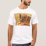 German Shepherd with One Floppy Ear T-Shirt