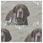 German Shorthaired Pointer Dog Fabric