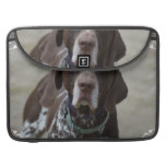 German Shorthaired Pointer Dog MacBook Pro Sleeve