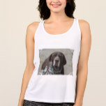 German Shorthaired Pointer Dog Tank Top